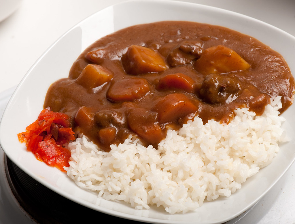Beef curry (Japanese style) - aka Curry Rice | Rich beef ...