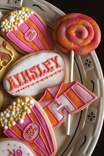 Modern Girly Circus Cookies. | by navygreen