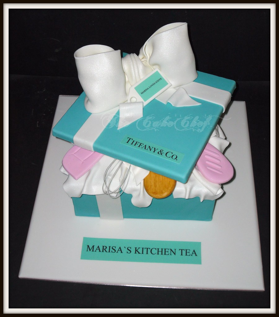 Kitchen Tea Cake Tiffany Kitchen Tea Cake Inspired By Michelle Design Ww Flickr