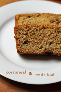 cornmeal and fruit loaf | by awhiskandaspoon