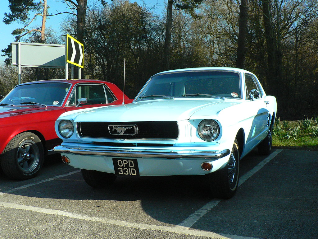 Cl Mustang >> Ford Mustang Coupe Opd 331d Seen At The Mustang Owners Cl Flickr