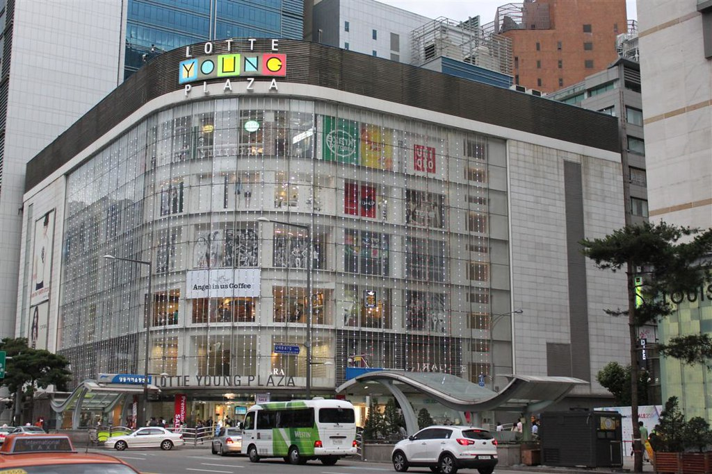 Lotte Shopping Mall at Myeongdong Seoul South Korea Flickr