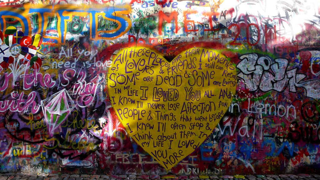 14 Muro de John Lennon.Praga. agosto 2011 | Jose Mesa | Flickr
