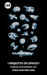 Object In Space @ TeeFury | by WinterArtwork