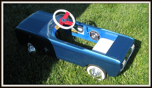 Mustang Pedal Car For Sale