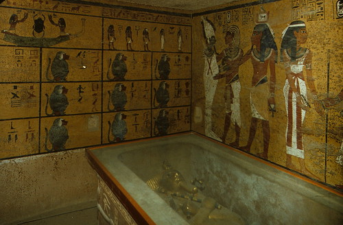 Inside the tomb of the boy king, Tutankhamen | by Yvon from Ottawa