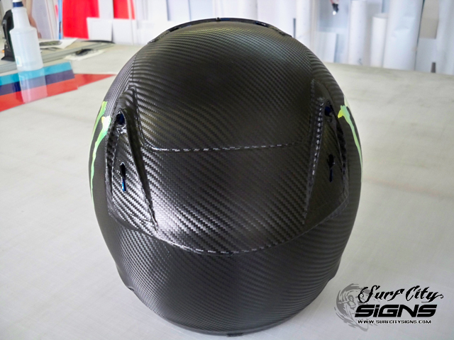 Carbon Fiber Helmet Wrap 3m Scotch Print Carbon Fiber