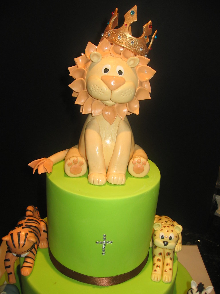 Baby Lion King Cake Toppers