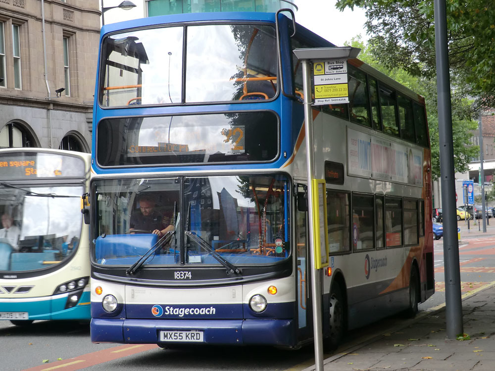 Stagecoach North West 18374 MX55 KRD | by buses7675!
