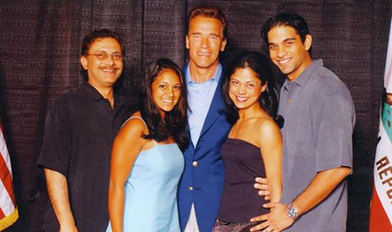 Dr. Prem Reddy & F... Arnold Schwarzenegger