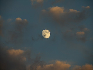 Moon and Clouds | by hpaich