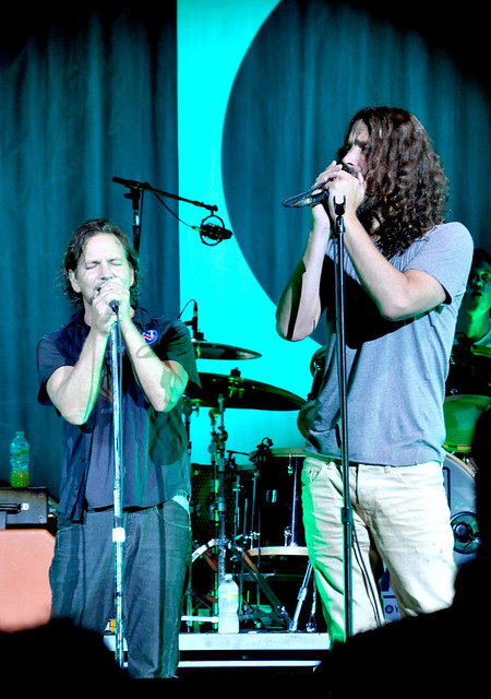 Eddie Vedder And Chris Cornell Eddie Vedder and Chris...