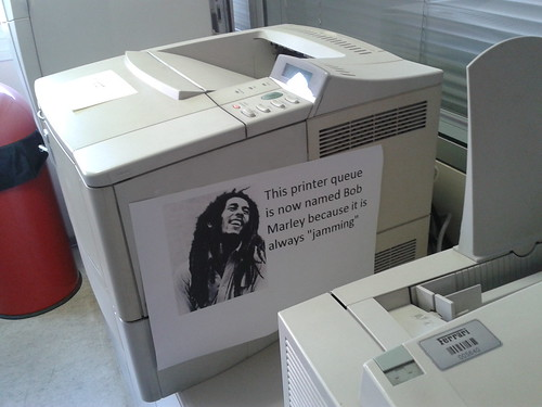 Bob Marley printer | by fry_theonly