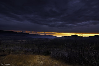 Stormy sunset off 120 | by bentappe