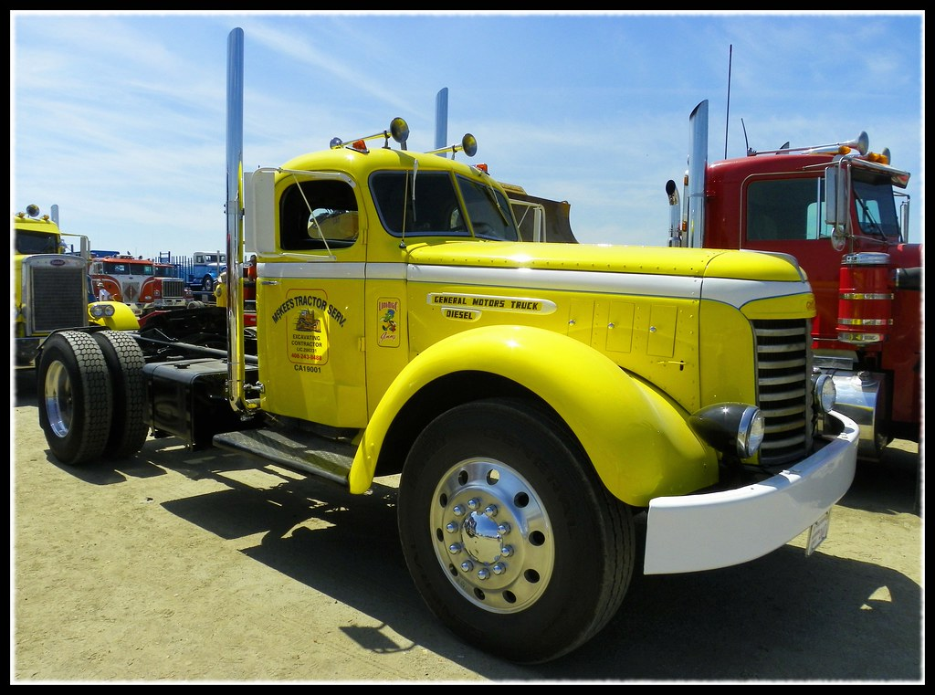 1948 GMC Truck | A beautiful 1948 GMC heavy truck at the 201… | Flickr