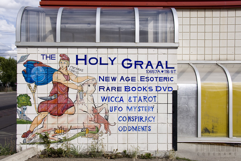 174/365   The Holy Graal - What a strange sounding bookstore