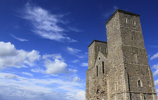 reculver towers | by Imnotsleepy