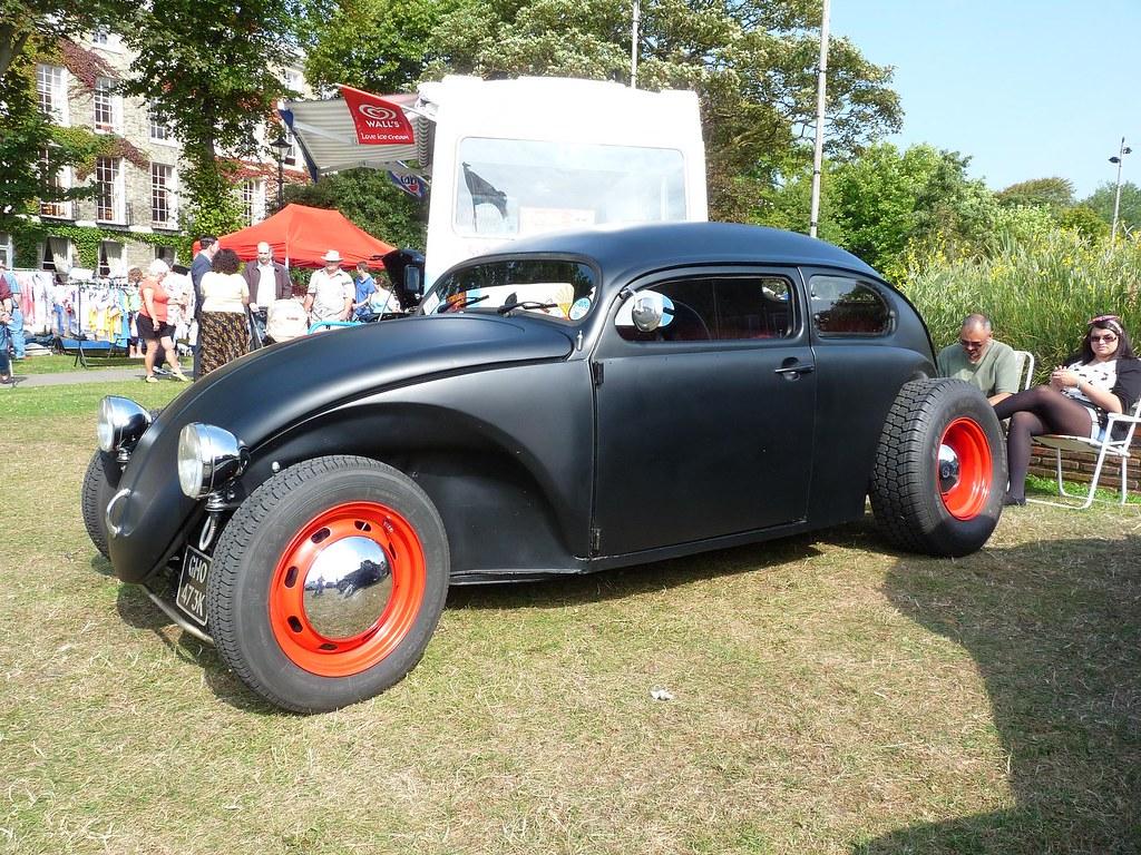 Vw Volkswagen Beetle Chopped Custom Worthing American