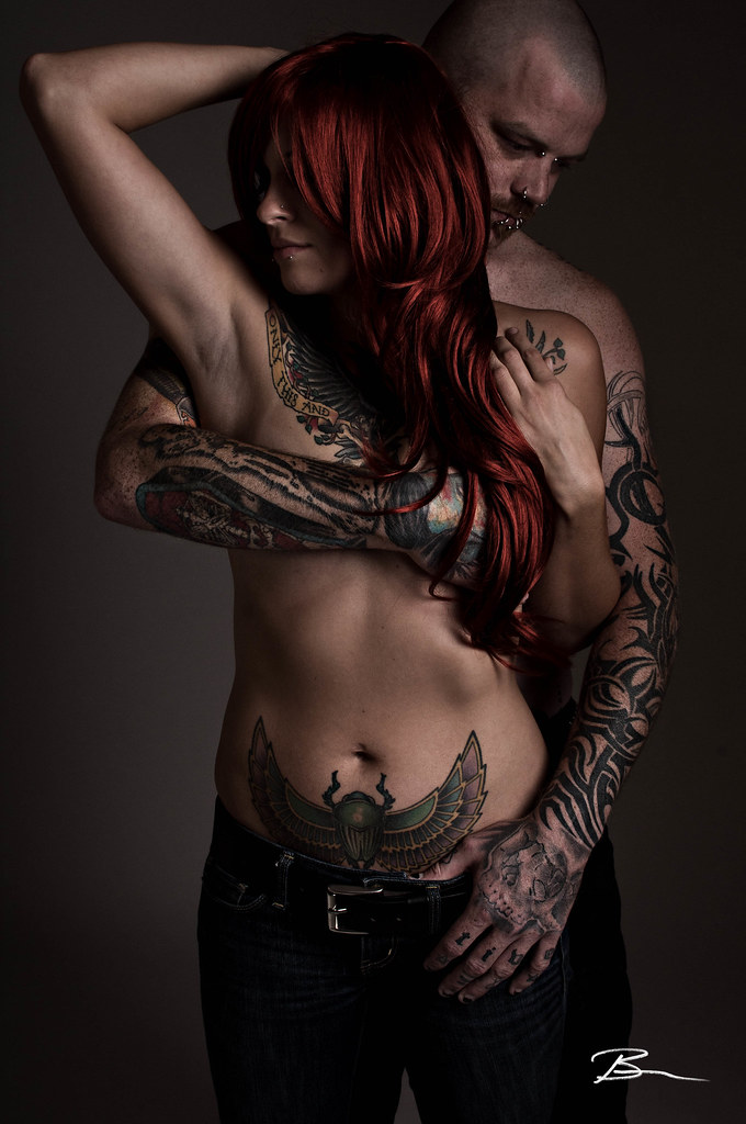 Tattooed Red Head  Check Out My Facebook Fanpage These -9028