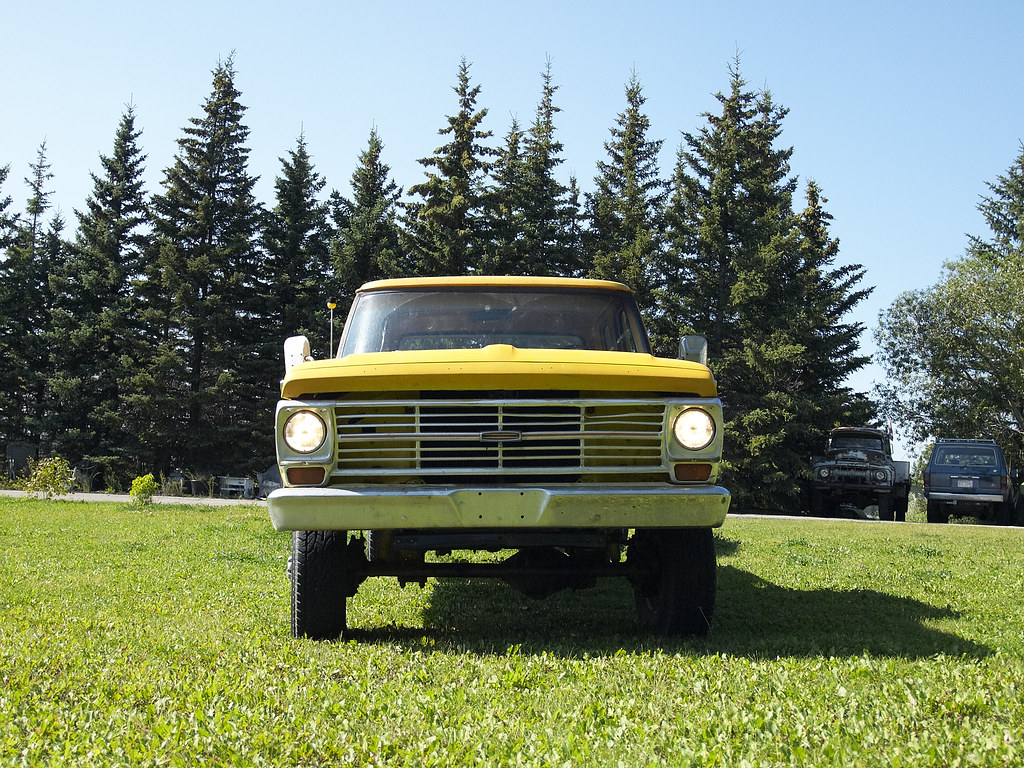 1969 Ford F250 Grill F 250 4x4 Highboy 61969