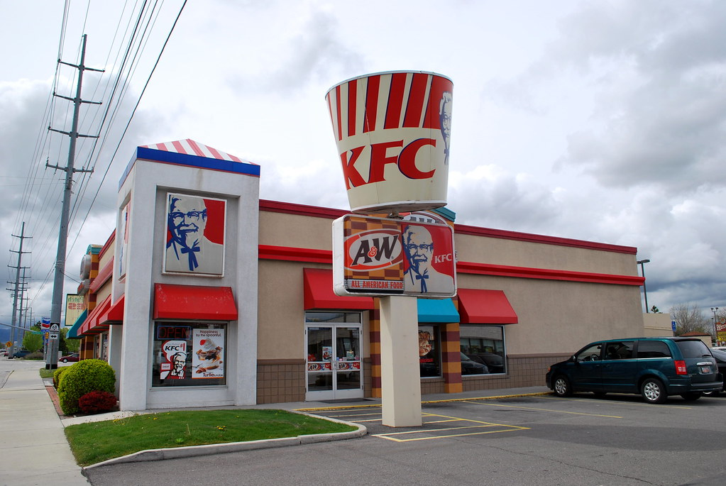 Kfc A Amp W West Jordan Front This Was A Kfc Since I First