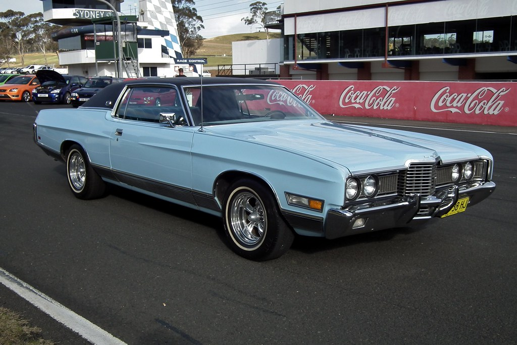 1972 Ford LTD hardtop | 1972 Ford LTD hardtop. Taken at ...
