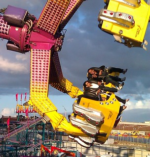 Rides at the Ekka (State Fair) - taken from Bowen Bridge Road, Brisbane, Queensland, Australia-4 | by David Jackmanson