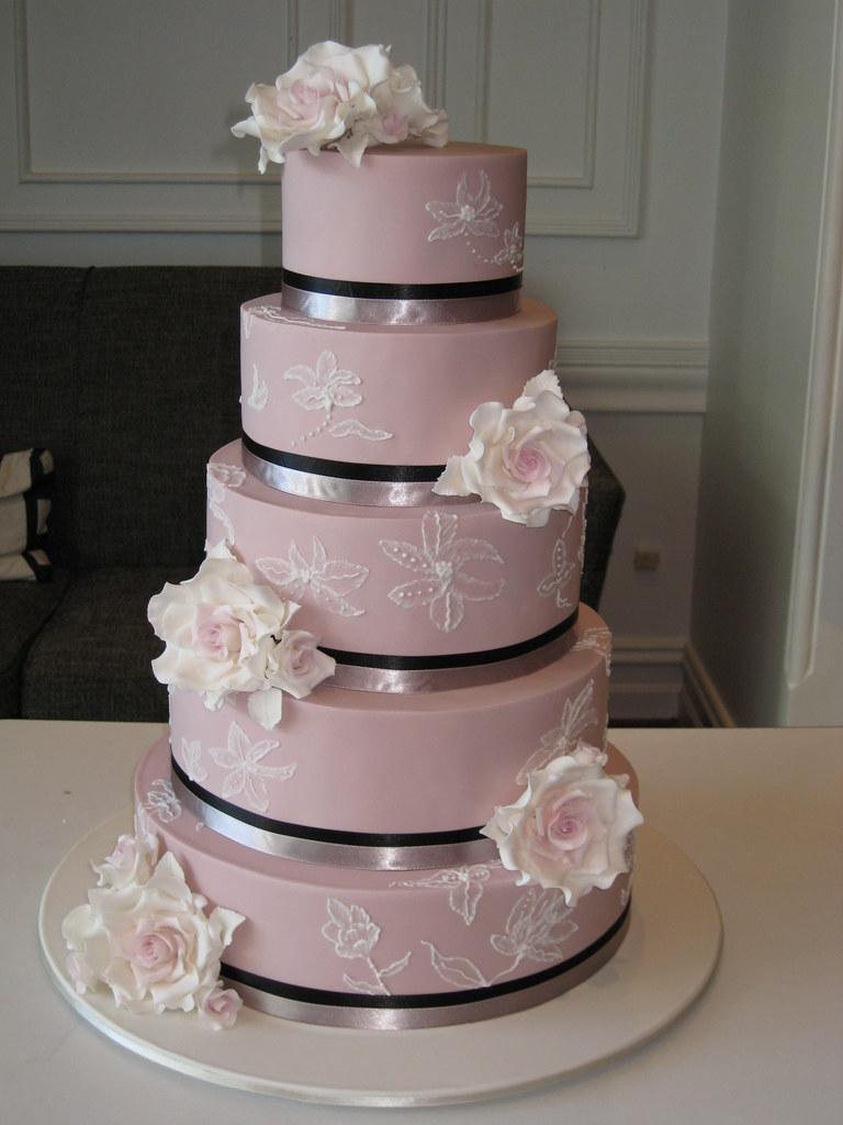 Melissa Wedding Cake This 5 Tier Wedding Cake Was