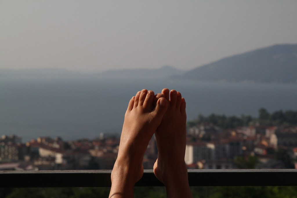 Resting in Verbania