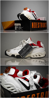 "Nike Air Resistance II ""Wht/Dark Charcoal-Varsity Red"" 