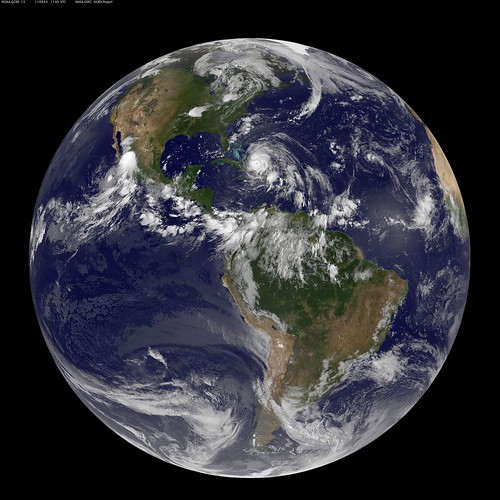 Full Disk Image of Earth Captured August 24, 2011 | by NASA Goddard Photo and Video