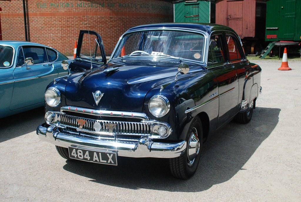 484alx 1955 vauxhall velox amberley museum west sussex
