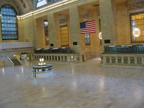 Empty Grand Central in preparation for Irene | by eyefodder