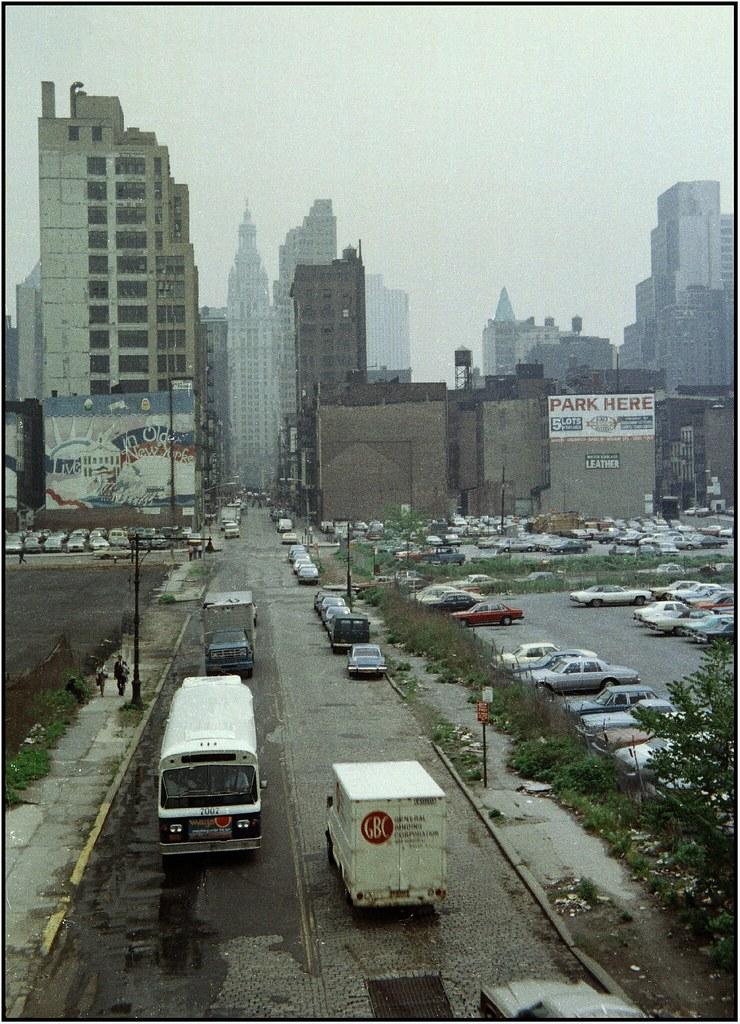 Chambers St New York City 1979 Manhattan West Side Petershagen Flickr