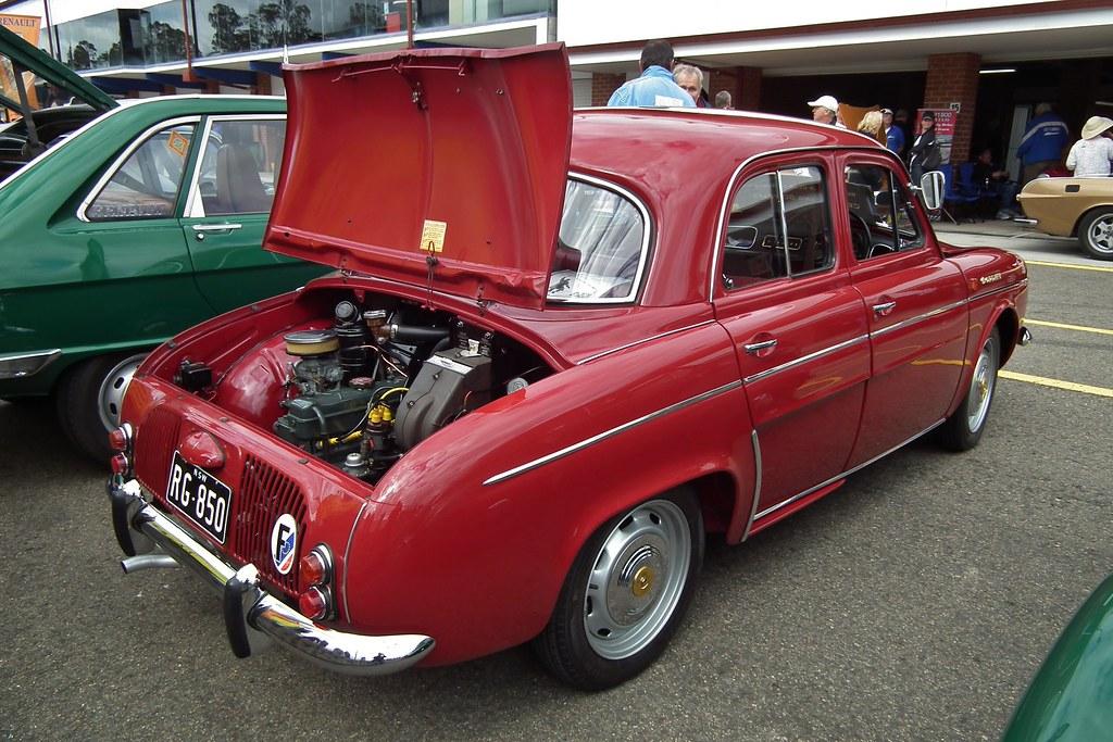 1962 Renault Dauphine Gordini Sedan 1962 Renault