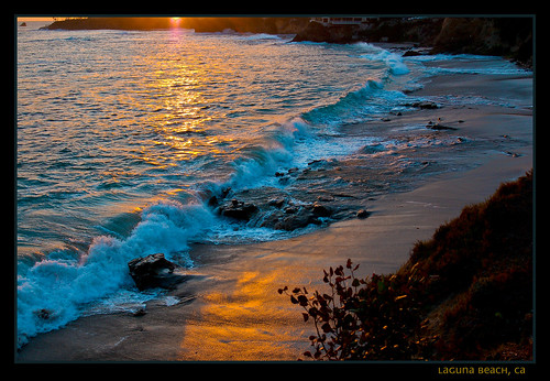 Laguna Beach's Golden & Aqua Hues | by MarketCrest Photography
