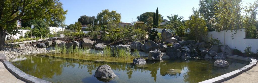 jardin japonais du parc botanique de marseille dans le pa
