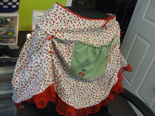 my cherrie apron | by Creations by Dawn Online