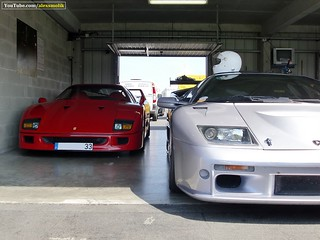 F40 and guest | by alexsmolik