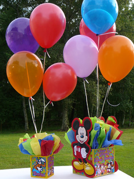 12inchballooncenterpieceweightcovermickeymousedeco Flickr