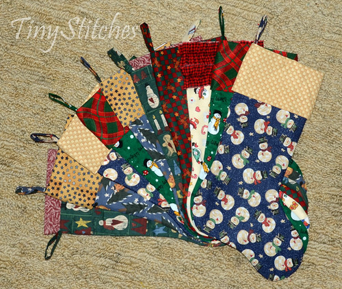 Craft Hope: Christmas In Dixie Stockings | by tinystitches