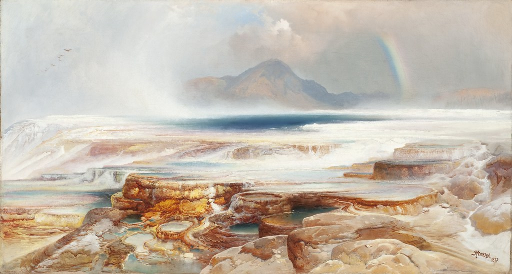 Image result for thomas moran paintings yellowstone national park