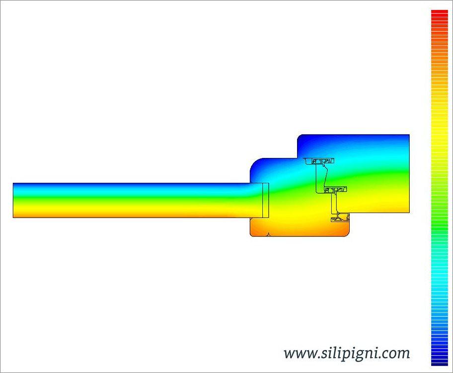 Trasmittanza termica serramenti temperature calcolo - Trasmittanza serramenti ...