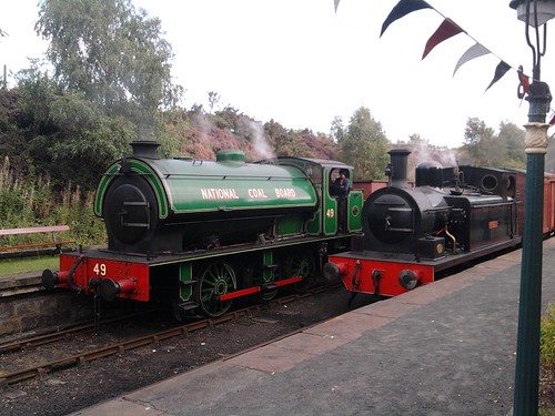 twizell and 49 at tanfield railway gala | by Chrisbarton1995