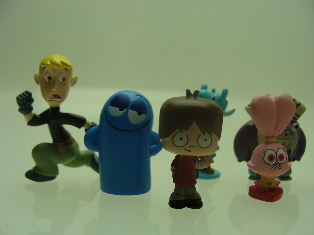 Cartoon Network Toys : Cartoon network capsule mini figures vintage toys flickr