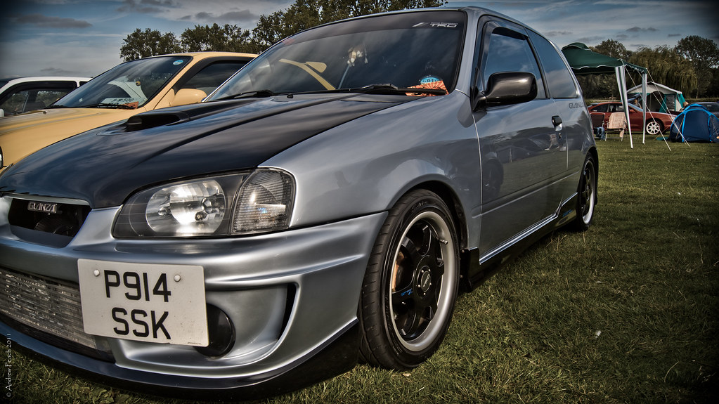 Charmant ... Toyota Starlet/Glanza V | By Peachyboii