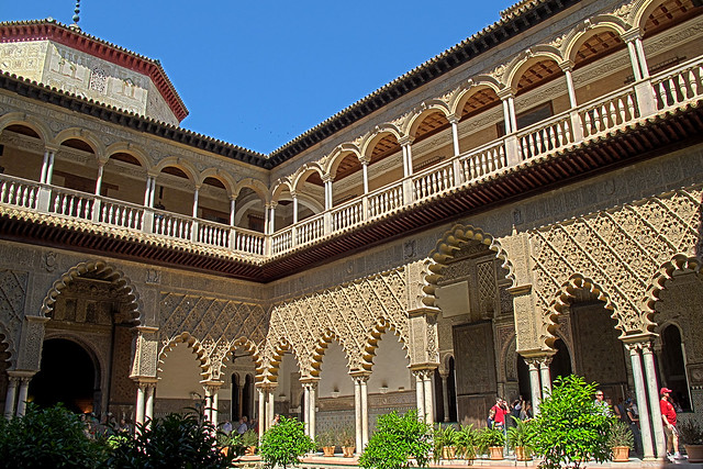 Real Alcazar de Sevilla (Alcázar of Seville)  Flickr ...