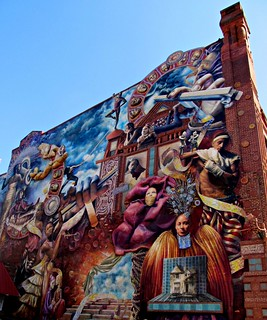 Mural at Broad & Lombard Streets | by brookeipse