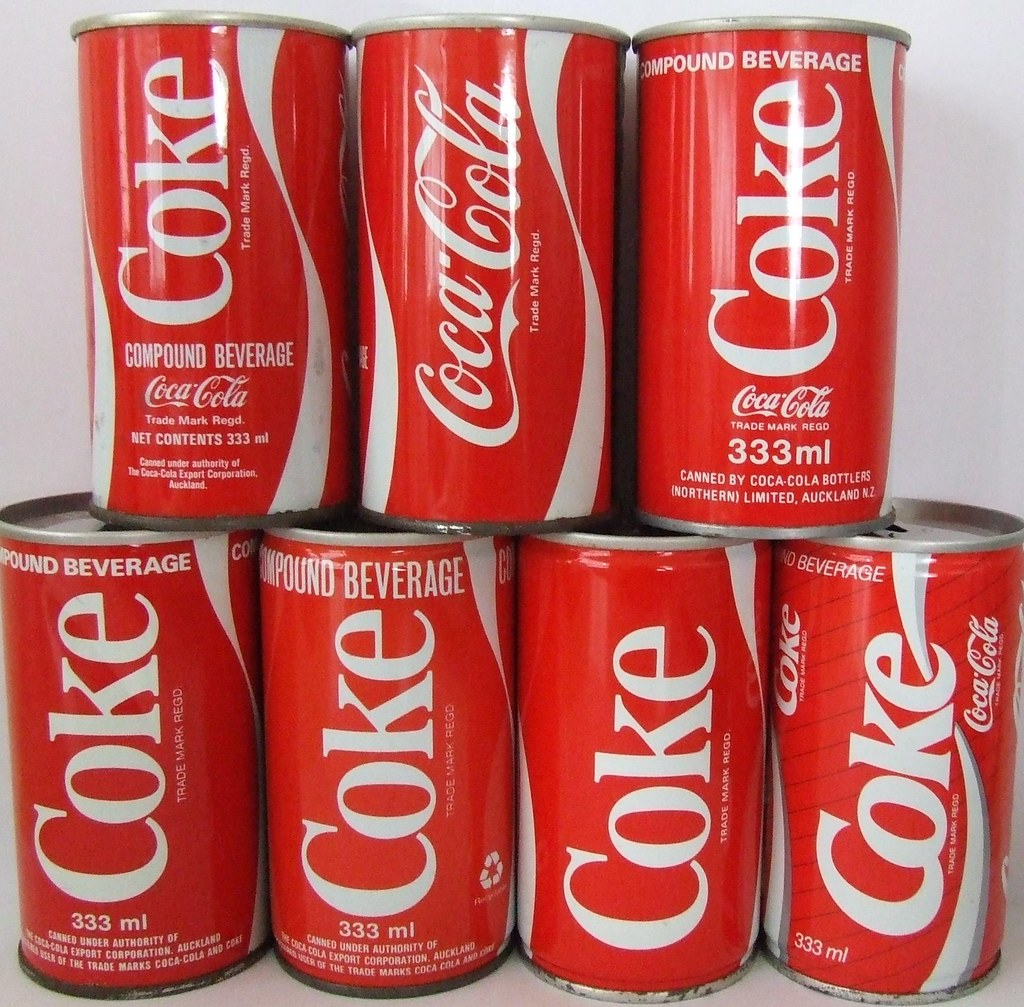 Vintage Coke Can