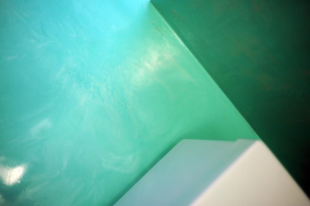 Bagni Moderni Verde Acqua : Bagno resina verde acqua spatolato verticale autolivellantu flickr